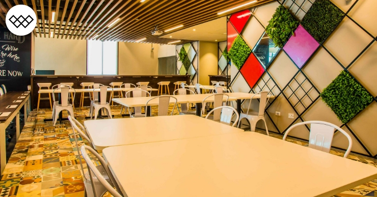 Collaborative Environment Coworking Spaces